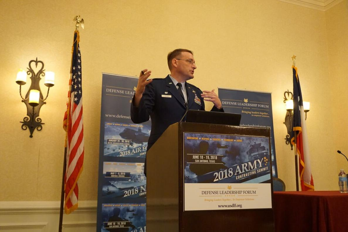 Colonel Paul Porter, Director of Contracting - Joint Base San Antonio