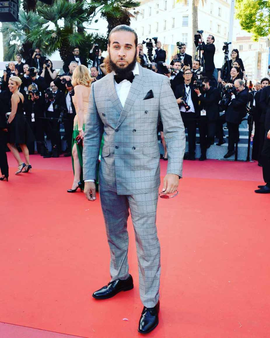 Actor Fernando Marrero's Red Carpet World Premiere at 71st Festival de Cannes