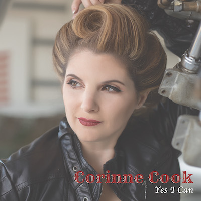 """Corinne Cook - """"Yes I Can"""" CD Cover"""