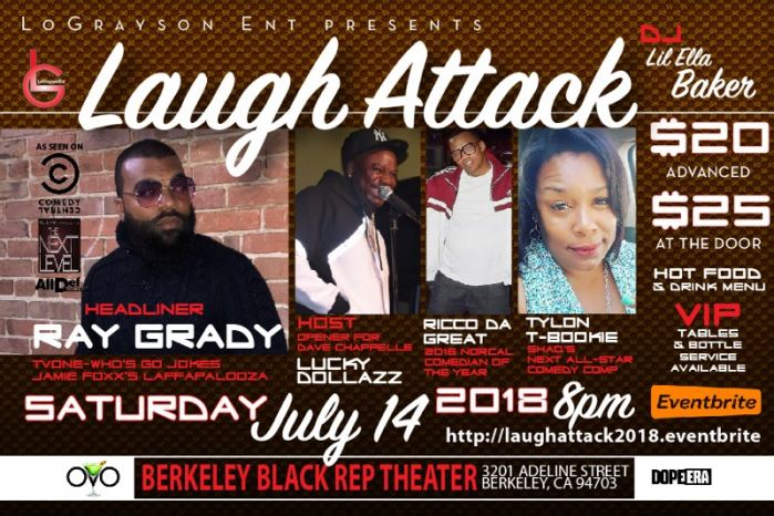 Laugh Attack 2018 - BRGBerk