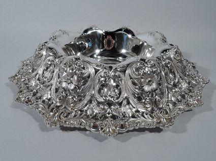 antique shreve sumptuos sterling silver antique si