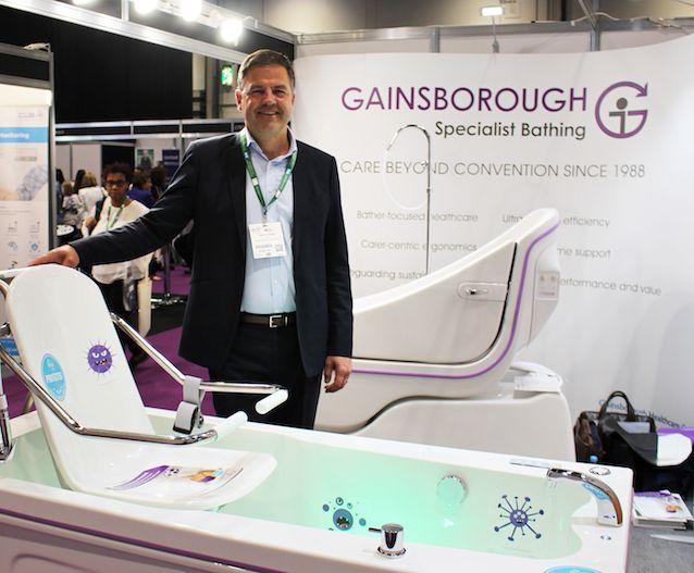 Peter Eckhardt, Gainsborough Healthcare Group CEO at Health Plus Care 2018