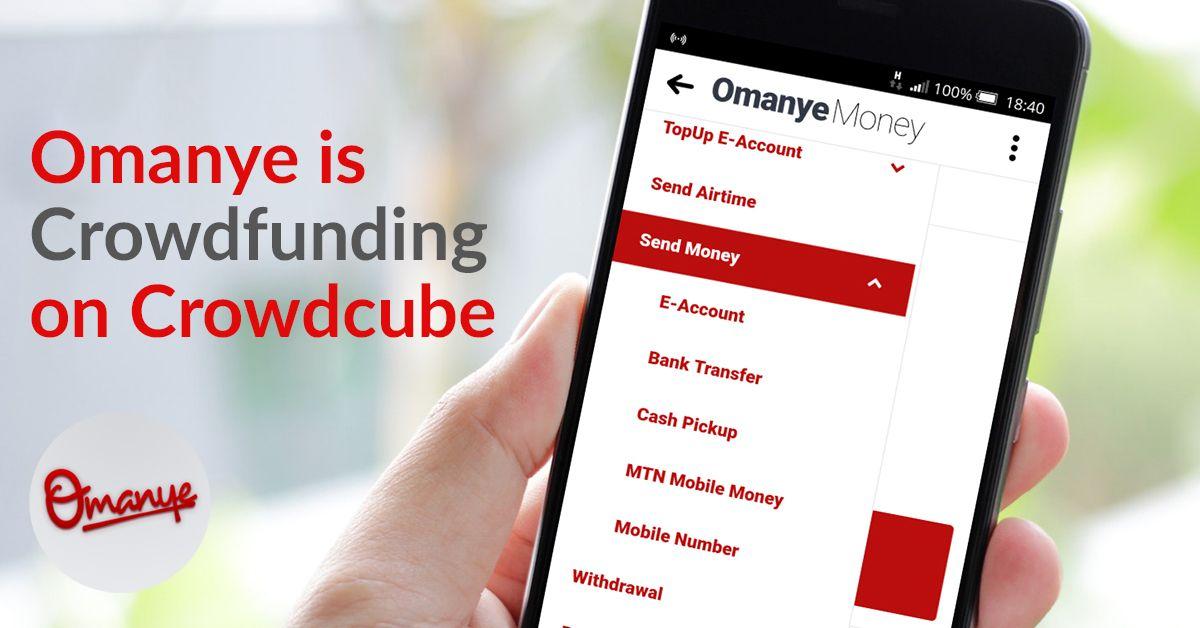 Omanye limited raising £500,000.00 on Crowdcube