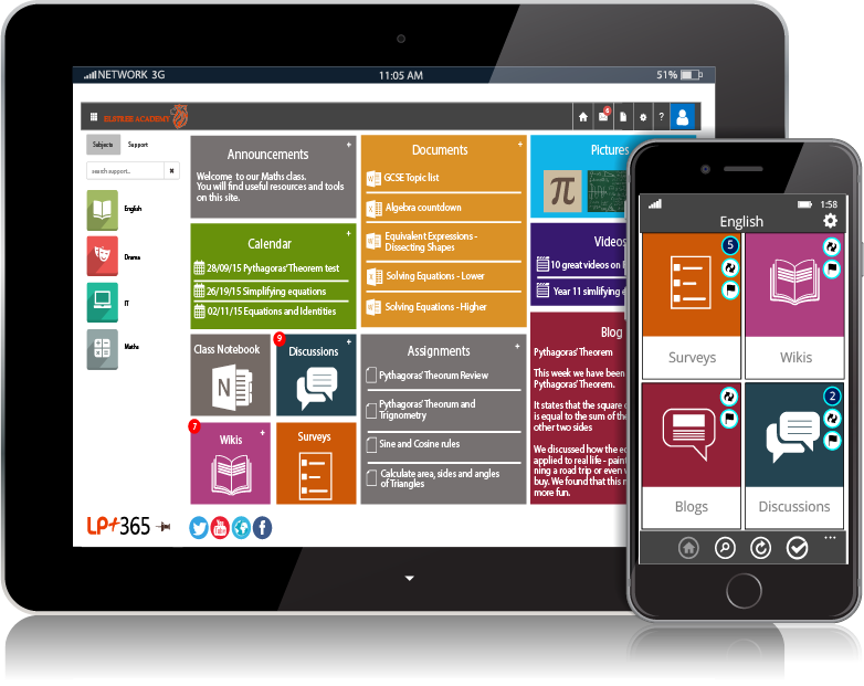 LP+365 the latest Learning and Collaboration Platform by Learning Possibilities