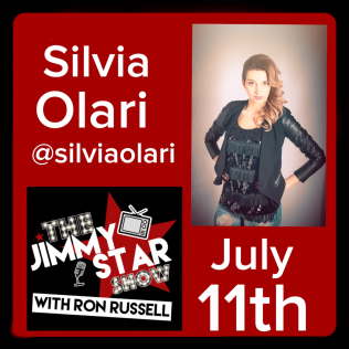 Silvia Olari on The Jimmy Star Show With Ron Russell