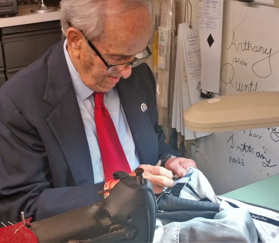 Frank Quintiliani, Local Tailor & Friend of Haverhill Crossings