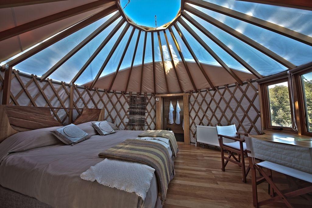 Yurt Morning light