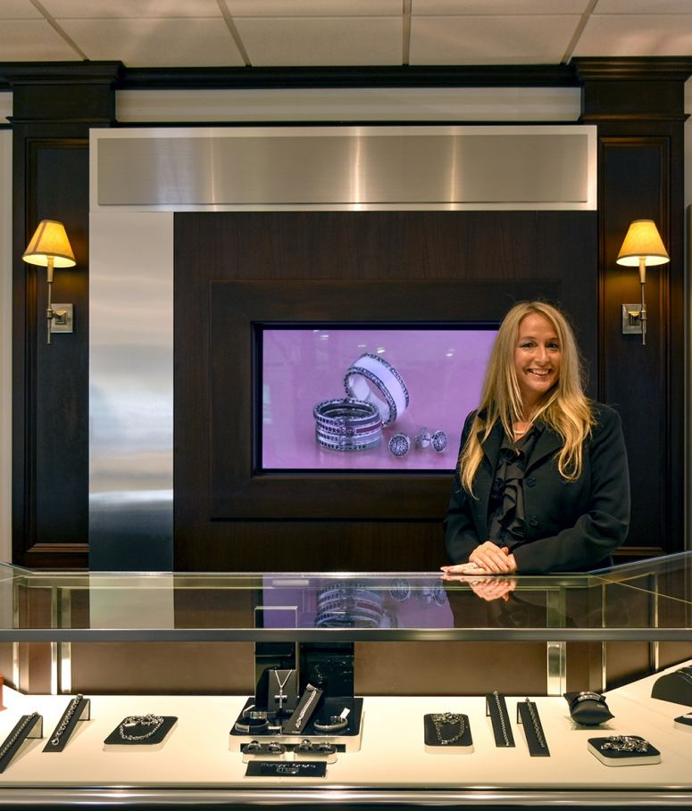 Michaels Jewelers in Danbury, CT is welcoming Michele Geffert as manager