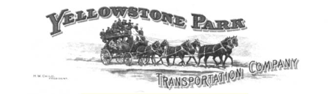 Yellowstone Park Transportation Company letterhead (courtesy YPTC)