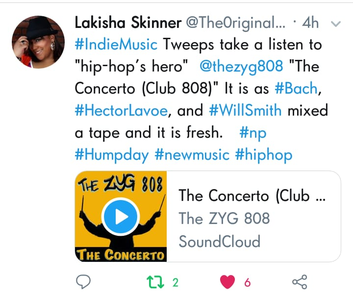 "Kiki Skinner Give ""The Concerto"" her endorsement"