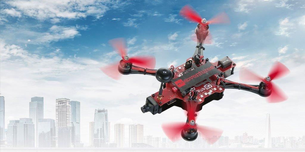 Discover Drones Premiere Drone, RubiQ