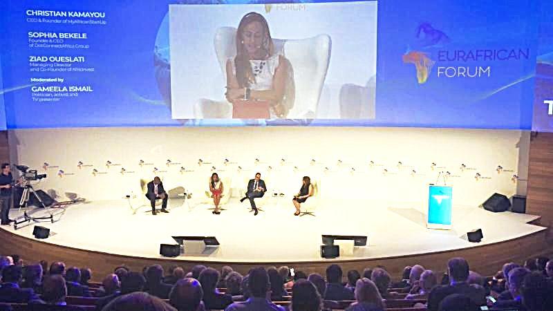 Sophia Bekele Time for Trust, EurAfrican Forum 2018