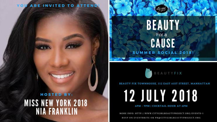 BEAUTY for a CAUSE SUMMER SOCIAL EVENT