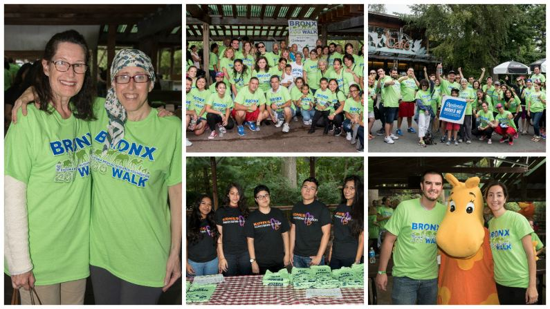 Pamela Sloate spearheads the annual Dystonia Bronx Zoo Walk on Sept 16.