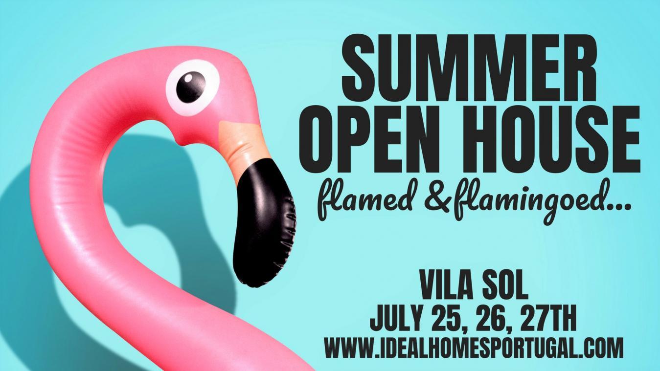 Summer Open House in Vila Sol, Algarve