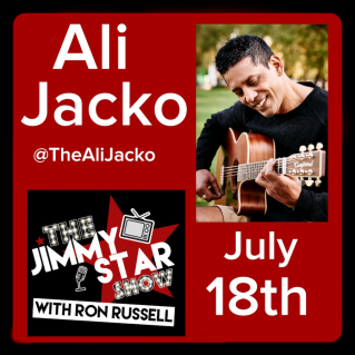Ali Jacko on The Jimmy Star Show With Ron Russell