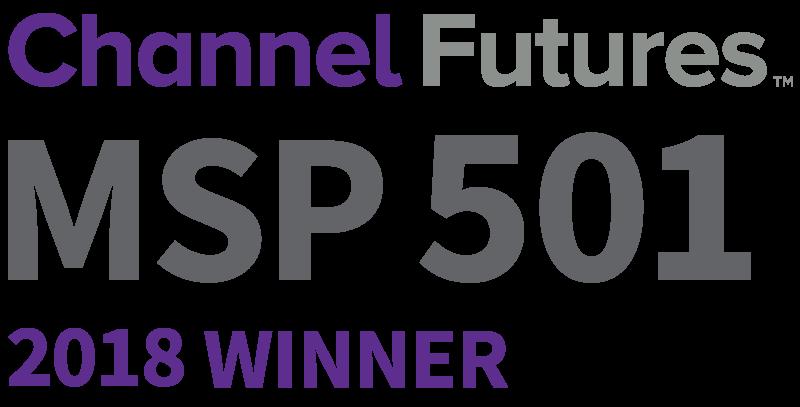Channel Futures MSP 501 Winner 2018