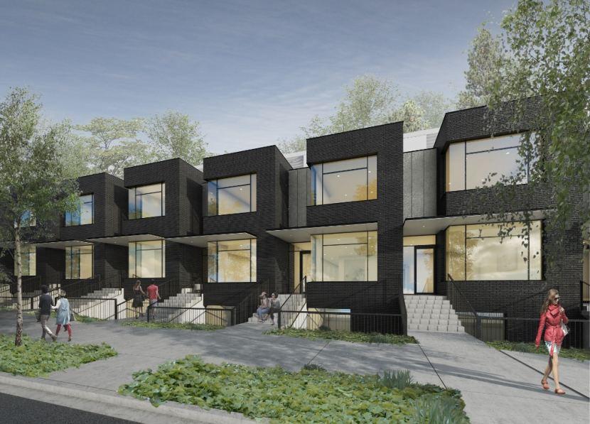 Clark Townhomes, consisting of 11 designer residences by Lambert Development LLC