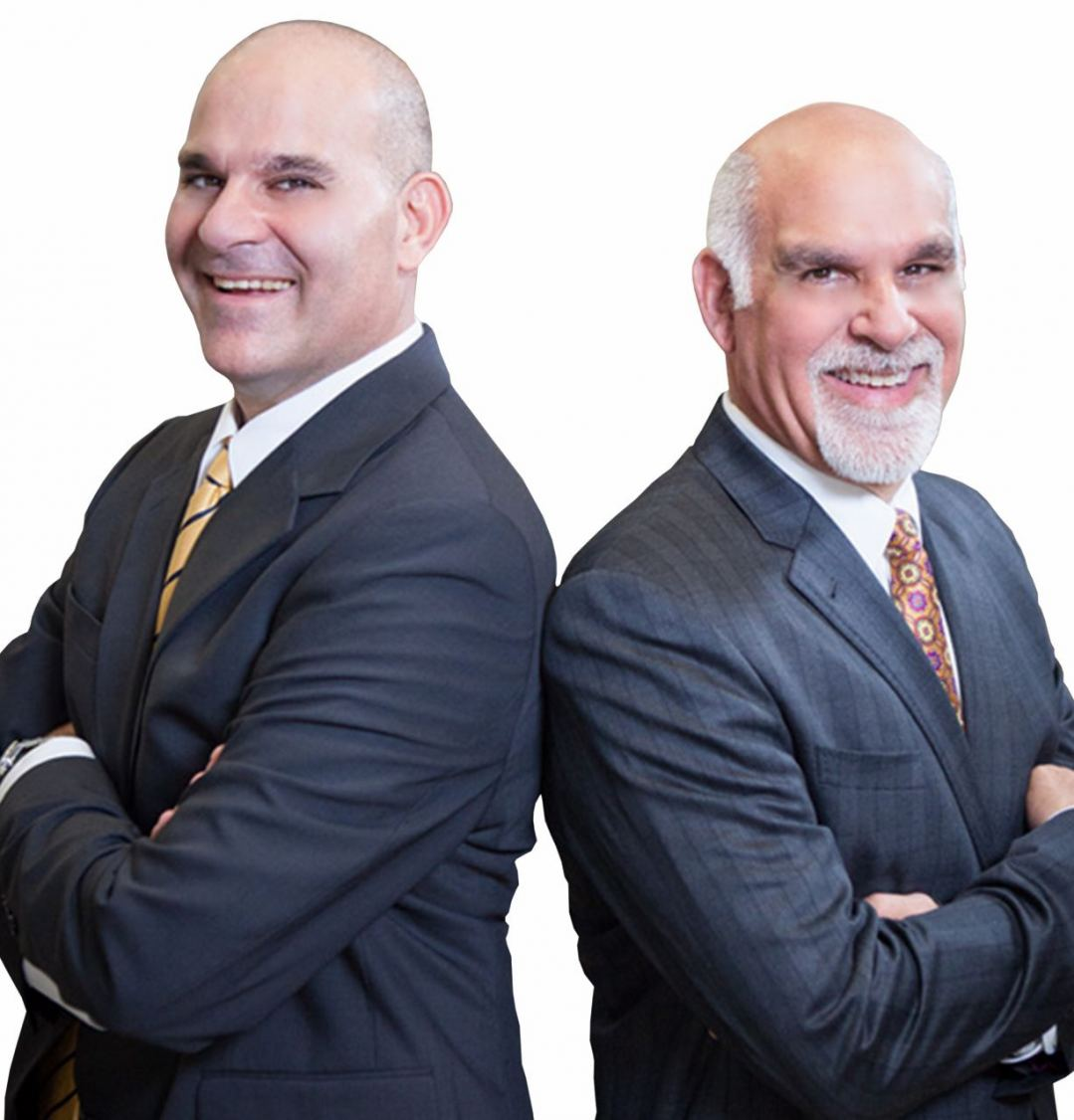 Brothers Mark and Neil Gellman, St. Louis natives who lead the Gellman Team.