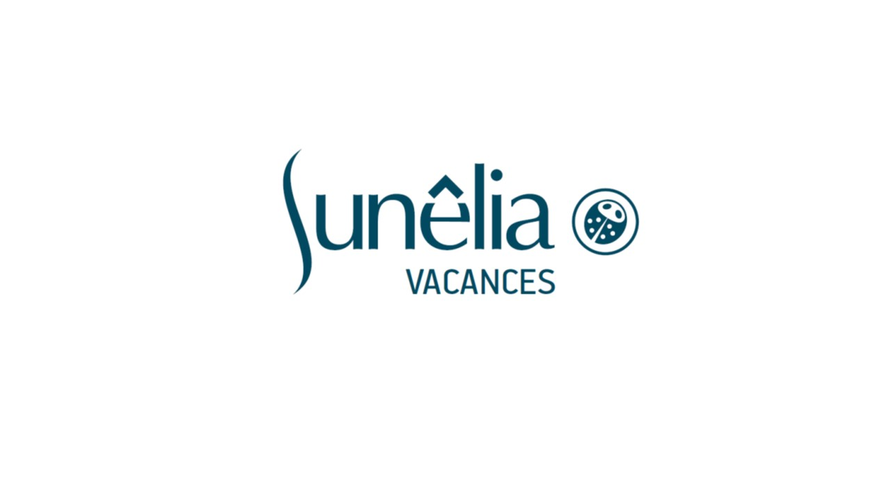 Logo Sunelia blue & white