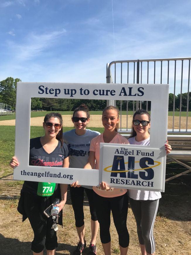 Peak walk for ALS