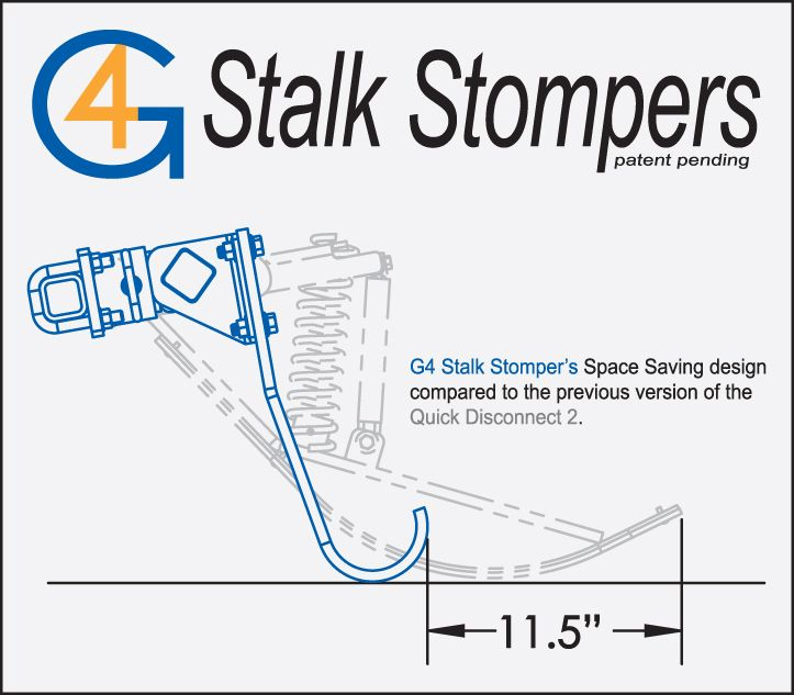 May Wes G4 Stalk Stompers now available for a wide range of corn heads.