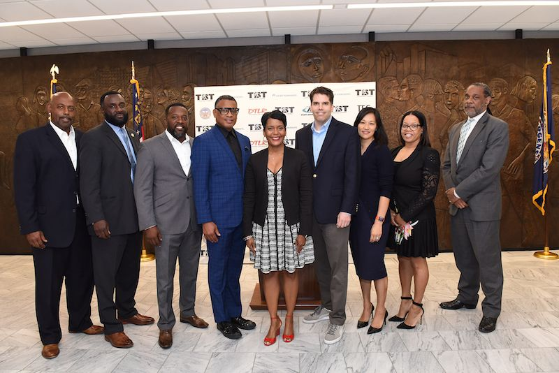 TBT Staff & ATL Mayor Bottoms Courtesy: Prime Phocus