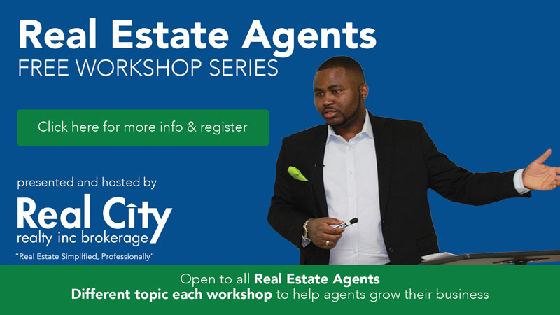 Free Workshop Series helping Real Estate Agents
