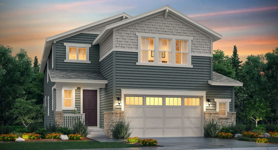 Discover a charming community of new single-family homes in Castle Rock
