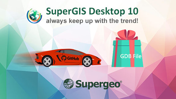 SuperGIS Desktop 10 always keep up with the trend!