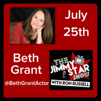Beth Grant on The Jimmy Star Show With Ron Russell