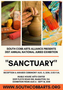 SCAA 31ST NATIONAL JURIED EXHIBITION