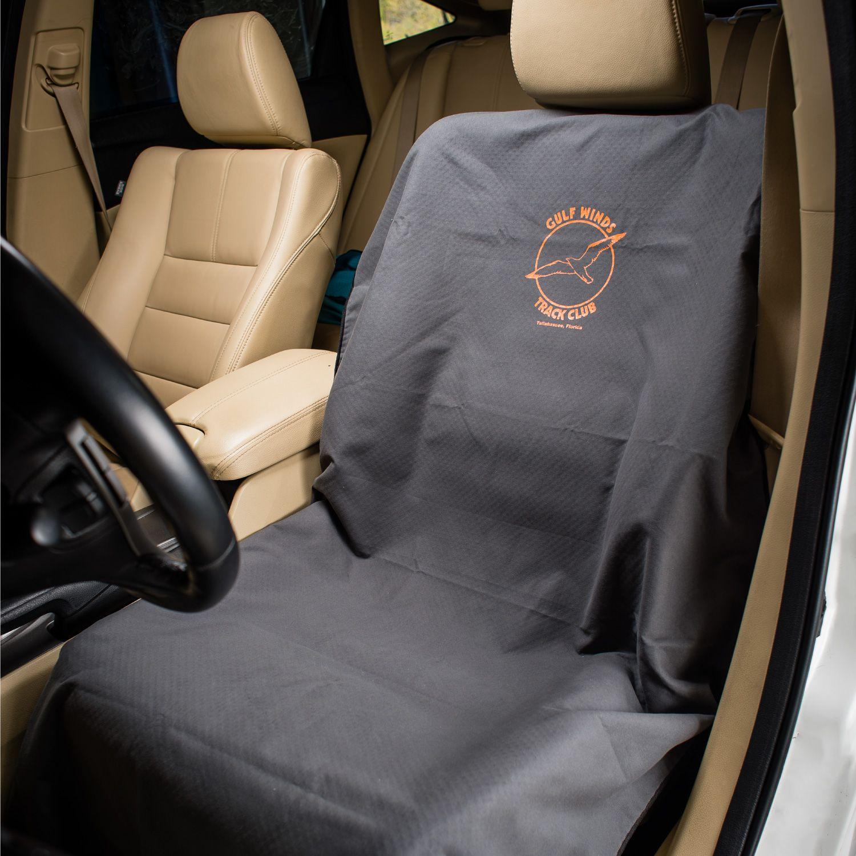 Run's Done Custom Logo Towel Car Seat Cover