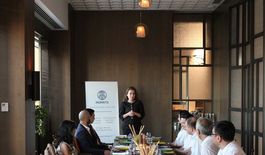 Merritz hosts the first of a series of round table discussions