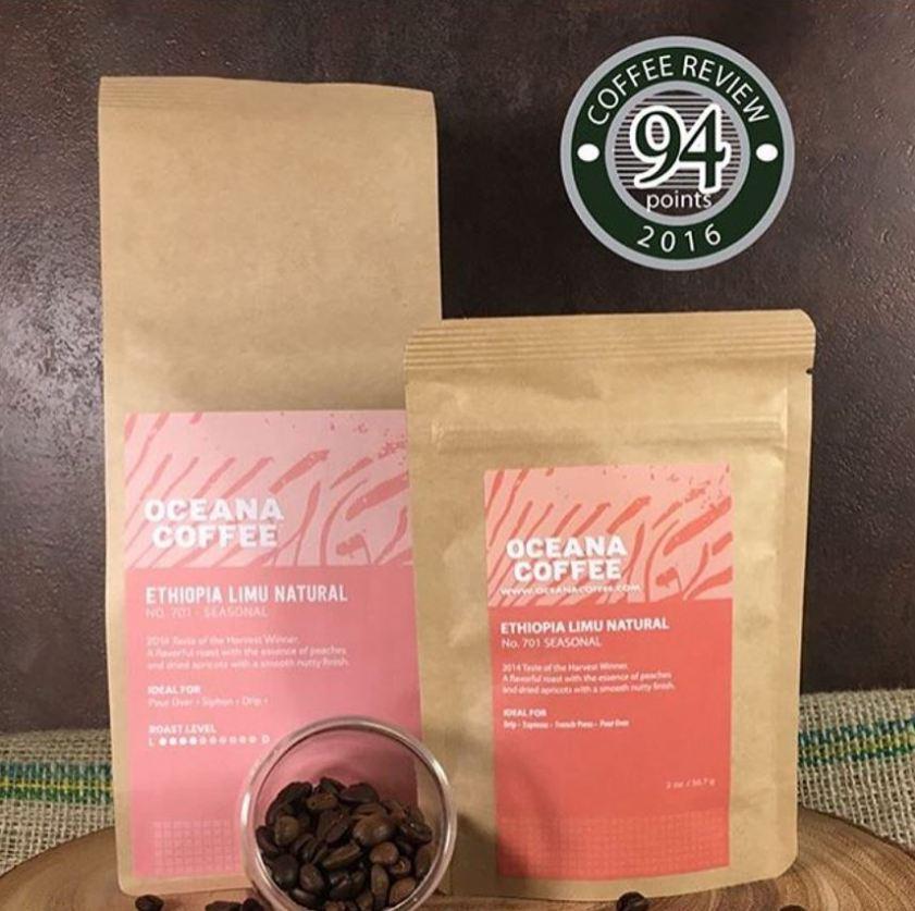 3e8f62936b9c Oceana Coffee Ethiopia Limu Natural has won awards in the U.S. and  Australia.