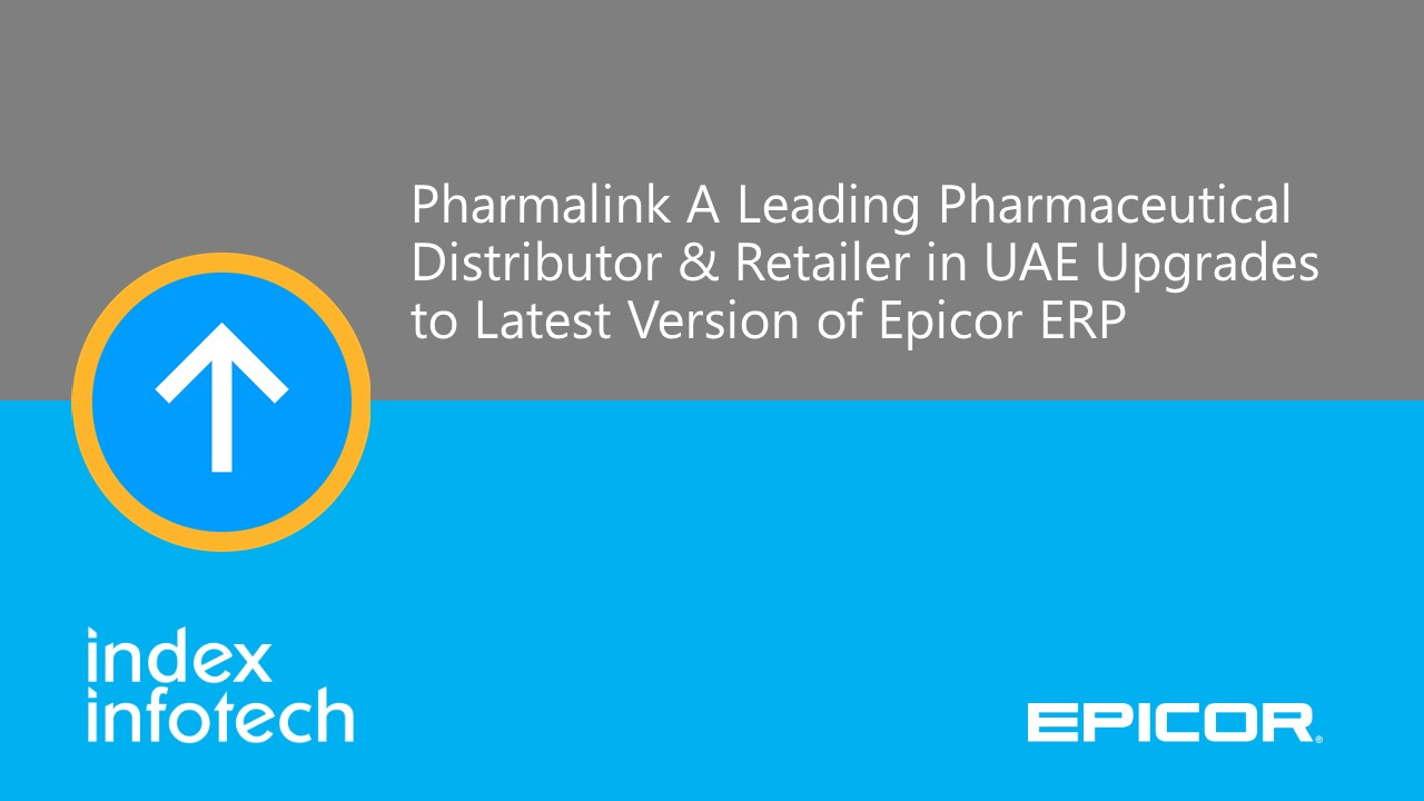 Pharmalink upgrades ERP
