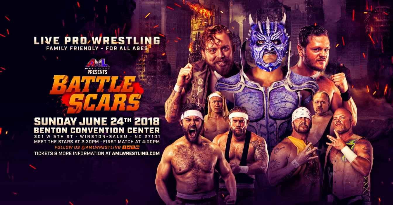 AML Wrestling presents Battle Scars
