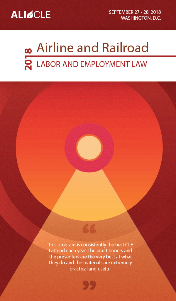 Employment Law for Airline and Railroad Industries