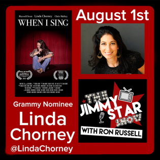 Linda Chorney on The Jimmy Star Show with Ron Russell