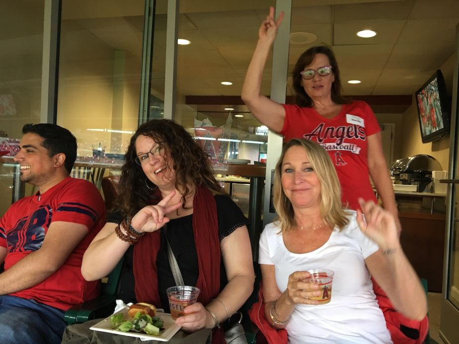 Orange County Residents Enjoying VIP Suite at Angels Game