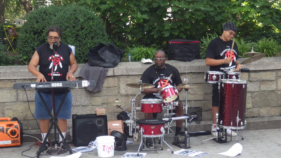 The GroovaLottos perform a Phunk Hit in Union Square Park, NYC
