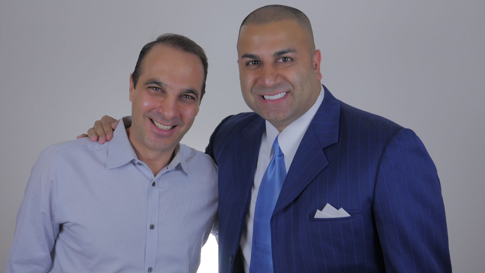 SEACRET Direct CEO Izhak Ben Shabat and Muzafer Najfi