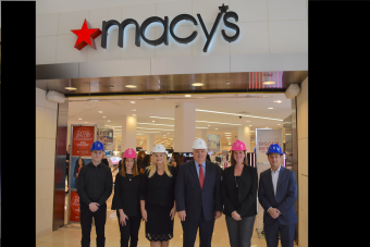 Macy's Town Center Team with HFHSBC Kari Oeltjen and Randy Nobles