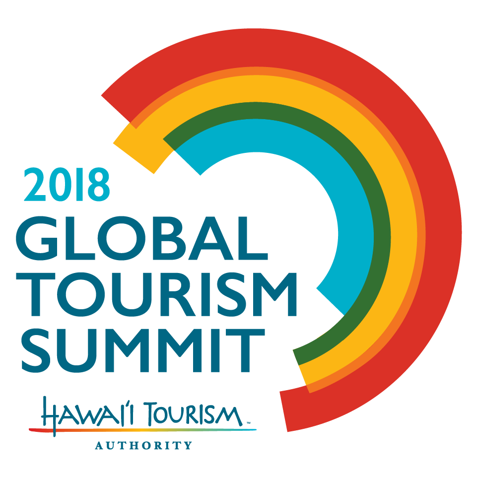 2018 Global Tourism Summit Portrait Logo