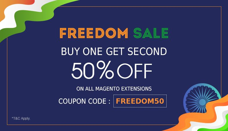 Magedelight Brings Amazing Freedom Sale To Celebrate 72nd