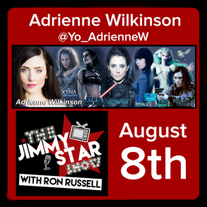 Adrienne Wilkinson on The Jimmy Star Show With Ron Russell