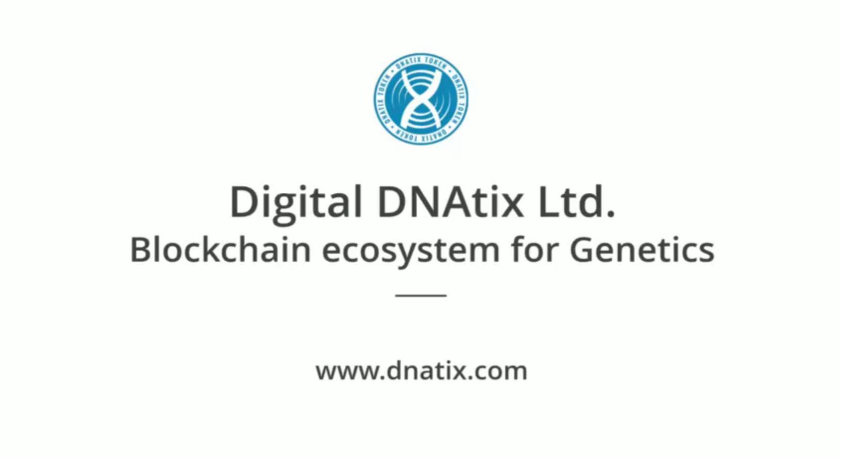 DNAtix - Blockchain Ecosystem for Genetics