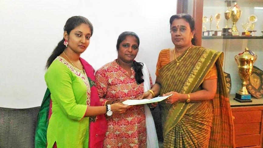 Knowledge Studio Team with Mrs. Sasikala