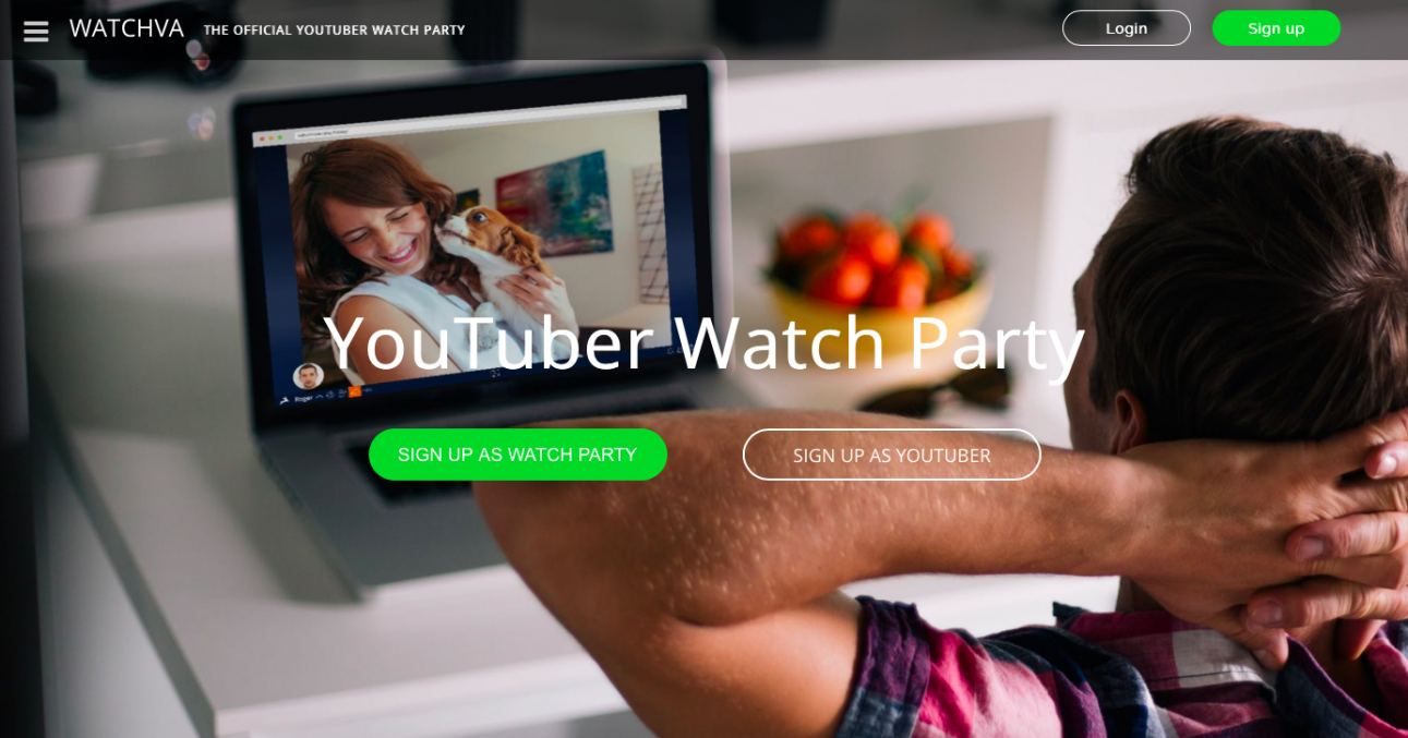 Watchva - The Official YouTuber Watch Party Network