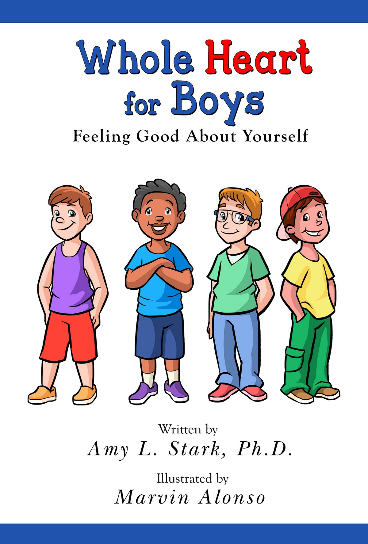 Dr. Amy Stark's new book helps boys deal with physical bullying and self-esteem